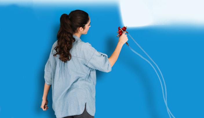 malowanie natryskowe ścian